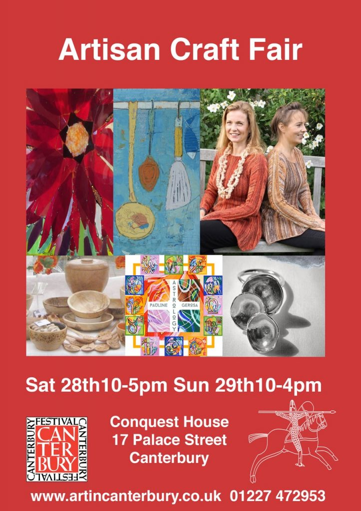 Artisan craft fair in Canterbury